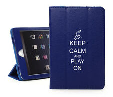 For iPad 2 3 4 Air Mini Leather Smart Case Cover Stand Keep Calm Play Waterpolo