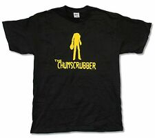 """THE CHUMSCRUBBER """"SILHOUETTE"""" BLACK T-SHIRT NEW OFFICIAL ADULT MOVIE FILM"""