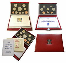 1985 to 2005 UK Deluxe Proof Coin Set Royal Mint  * Multi Listing *