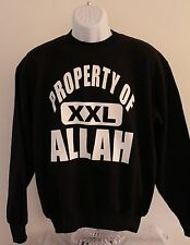 Property of Allah sweatshirt as worn by Iron Mike Tyson