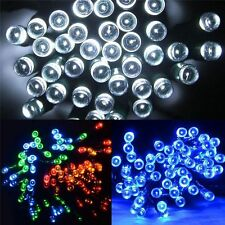LED SOLAR POWER 50/100/200 FAIRY STRING LIGHTS GARDEN CHRISTMAS OUTDOOR INDOOR