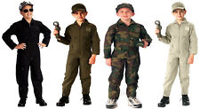 Kids Flight Suit Coveralls US Air Force Military Style Rothco 7200