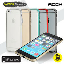 ROCK Ultra Slim CNC Aviation Aluminum Metal Bumper Frame Case iPhone 6/6s 4.7""