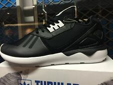 ADIDAS ORIGINAL TUBULAR RUNNER BLACK WHITE 100% AUTHENTIC B41272 US MENS SZ 4-13