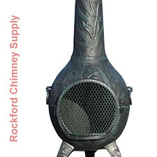 Wood Burning Outdoor Fireplace Orchid Chiminea