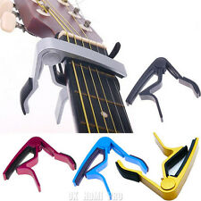 QUICK RELEASE ALUMINIUM METAL TRIGGER CAPO FOR ACOUSTIC OR ELECTRIC GUITAR