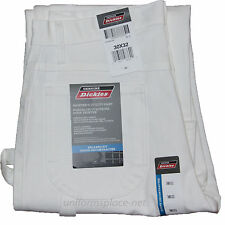 Dickies Painter Pants Mens Relaxed Fit Utility Pockets pant PCWMCWH Cotton WHITE
