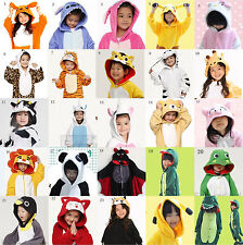 Children Kid Pajamas Kigurumi Unisex Cosplay Animal Costume Onesie Nightwear New
