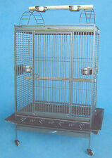 """4 Color Extra Large Open Top Parrot Macaw Amazon Wrought Iron 32""""x22""""x62""""H - 262"""