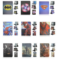SuperHero Cartoon Series Leather Smart Case Cover For Samsung Galaxy Tablet T530