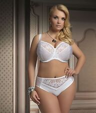 Beautiful White Brillant Bst Soft Bra By Kris Line ( Cup 40 / 90 Chest  GG - K )