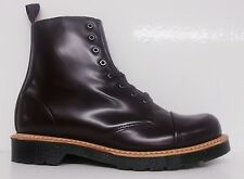 DR.MARTENS CHARLTON 8 EYE TOE CAP MEN'S LEATHER BOOT OXBLOOD SELECT SIZE