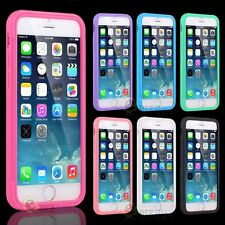 For iPhone 6/ 6 Plus TPU Wrap Up Phone Case Cover with Built-in Screen Protector