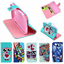 Christmas Cute Morden Folding Leather Shell For Samsung Galaxy Core Plus G3500