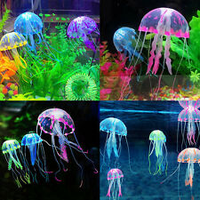 Jellyfish Aquarium Decoration Artificial Decor Glowing Effect Fish Tank Ornament