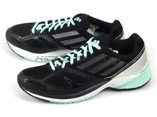 Adidas Adizero Tempo 6 W Running Sneakers Black/Teal Green/Silver-White M25621