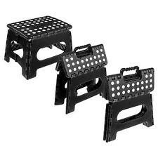 2-Pack Lightweight Skid-Resistant Folding Step Stool with Non-Slip Surface