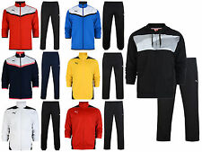 Mens Puma Full Suit Polyester Tracksuit Football Training Track Top Size S-XXL