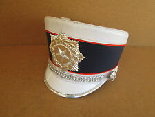 USED White/Blue Stanbury Marching Band Hat
