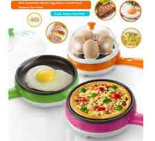 Mini Automatic Electric Egg Boiler Cooker Food Steamer Pan-fried