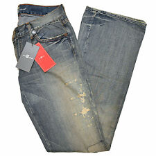 7 For All Mankind Jeans 777 Womens Distressed Triple Seven Jean Limited New V175