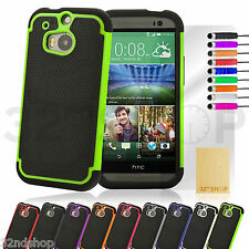 Shockproof case for various HTC mobile phones + free screen protector & stylus