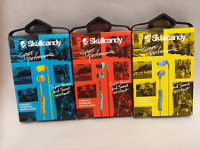 Skullcandy Method In-Ear Stereo Buds Sport Earphone Headphones w/Mic+Remote NEW