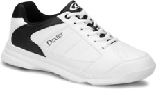 Dexter Ricky III White/Black WIDE WIDTH Mens Bowling Shoes