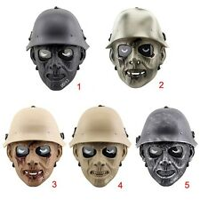 War Game Airsoft Paintball Strike Protection Gear Zombie Dead Mesh Ful Face Mask
