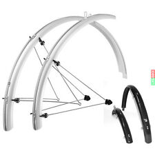 "SKS Chromo plastics Bike Mudguards 26""-28"" Long Form 35mm-65mm o.Contact."