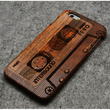 Real Natural Bamboo Wood Wooden Hard Case Cover Shell for iPhone 6 4.7''/6 Plus