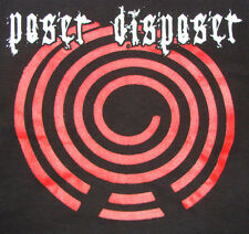Poser Disposer - Waiting To Inhale shirt / New/ S or L (Black) Grindcore Punk