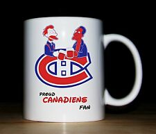 NHL Ice Hockey teams mugs,Can be personalised with any text,great gift,Simpsons