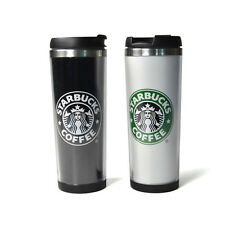 2014 Starbucks Double Wall Coffee Mug Tumbler Stainless Steel Travel Cups 14oz