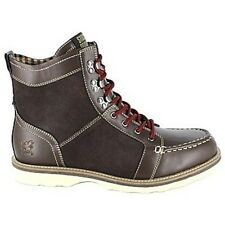 Stacy Adams Mainline Men's Brown Leather and Synthetic Ankle Boots #53376-200