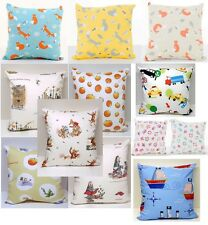 Childrens Cushion Cover's Taxi, Pirate ship, Mr fox, Roald Dahl,Toot Owl,Rainbow