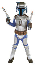 JANGO FETT COMPLETE CHILD COSTUME + 2 BLASTERS + BACKPACK MEDIUM LARGE HALLOWEEN