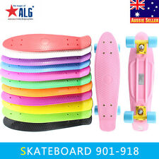 "New 22"" Professional Plastic Penny Style Skateboard Completed Free Delivery"