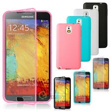 New TPU Wrap Up Case w/Built in Screen Protector For Samsung Galaxy Note 3 N9005
