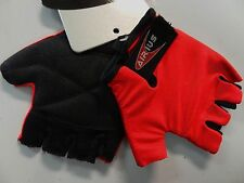 Kids Cycling Gloves for Bikes Bicycles Red Airius Speedy Lightly Padded