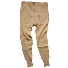 Swedish Army Issue Cold Weather Arctic Long Johns S M L XL New 2 3 or 5 Pairs