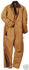 dickies big tall mens 5x-6xl insulated winter lined heavyweight work coveralls
