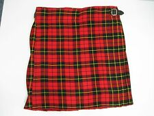 Wallace Red/Black/Yellow Tartan Kilt Men's Various Sizes NEW WITH DEFECTS