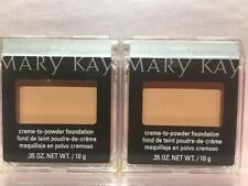 Lot Of 2 Mary Kay Creme to Powder Foundation - CHOOSE YOUR SHADE