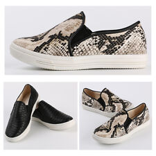 Fashion New Women's Low Slip On Sneakers Flats Girl's Shoes Casual Loafers 3-8