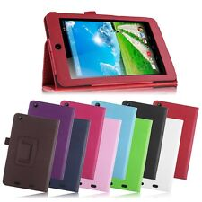 "Folding Leather Case Cover Skin Stand for Acer Iconia One 7 B1-730 7"" Tablet"