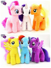 "6PCS My little pony Magic Soft Plush Stuffed Toy Doll7"" Kids Gift 100% Quality"