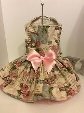 Spring in Paris  Dog Dress for Chihuahua's and all  Small Dogs