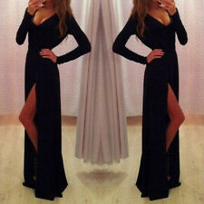 Women Sexy Prom Ball Cocktail Evening Party Clubwear Long Maxi Dress Formal Gown