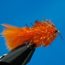 4x ORANGE BLOBS TROUT FISHING FLY